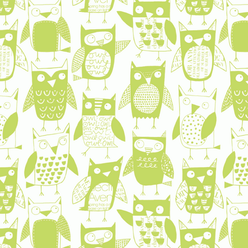 Loboloup Childrens Wallpaper Owls