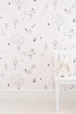 Buy online soft baby pink wallpaper | Catch A Star Wallpaper | Katie Bourne Interiors