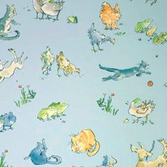 Osborne & Little Wallpaper Quentin's Menagerie W6063-02
