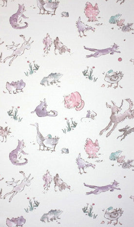 Osborne & Little Wallpaper | Quentin's Menagerie W6063-03