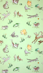 Osborne & Little Wallpaper | Quentin's Menagerie W6063-01
