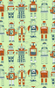Loboloup Childrens Wallpaper Robots