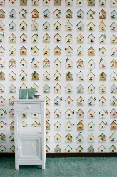 Studio Ditte Birdhouse Wallpaper