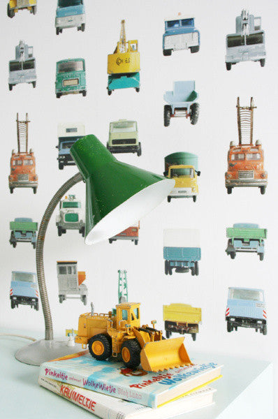 Studio Ditte Wallpaper | Work Vehicles
