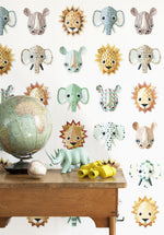Studio Ditte Wild Animals Wallpaper | Just Kids Wallpaper