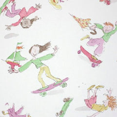 Osborne & Little Wallpaper Skateboarders W6064-02