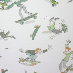 Osborne & Little kids Wallpaper Skateboarders W6064-01