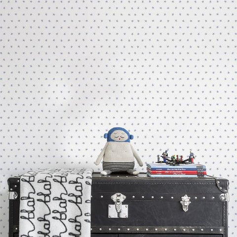 Majvillan Wallpaper | Dots Grey