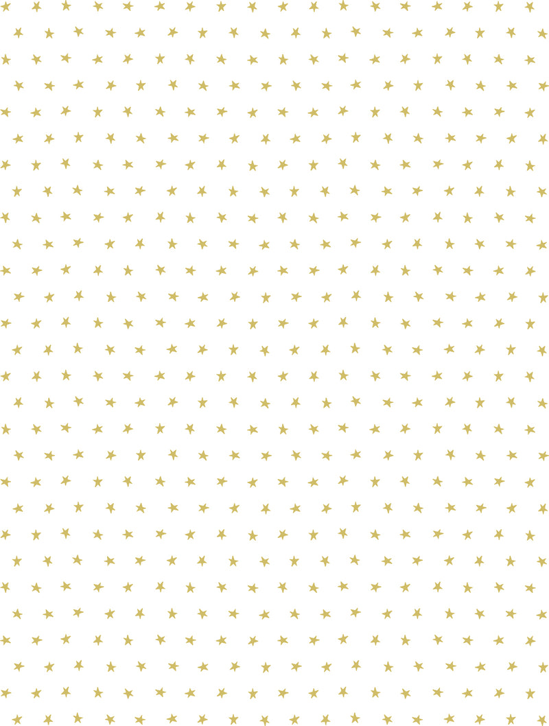 Twinkle Stars Wallpaper by Sissy & Marley in Gold