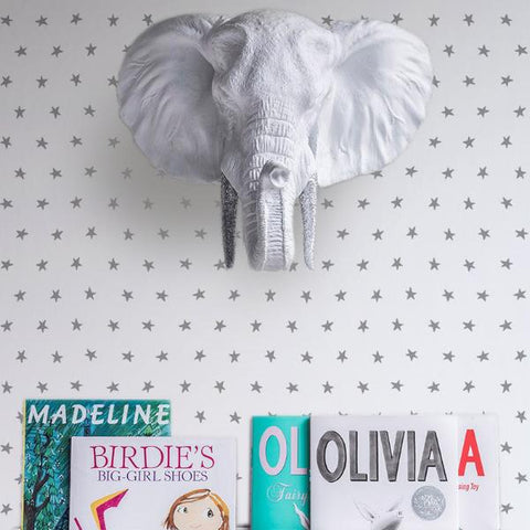 Marley+Malek Kids Wallpaper | Stripe in Rain