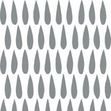 Drops in Silver Wallpaper | Sissy & Marley