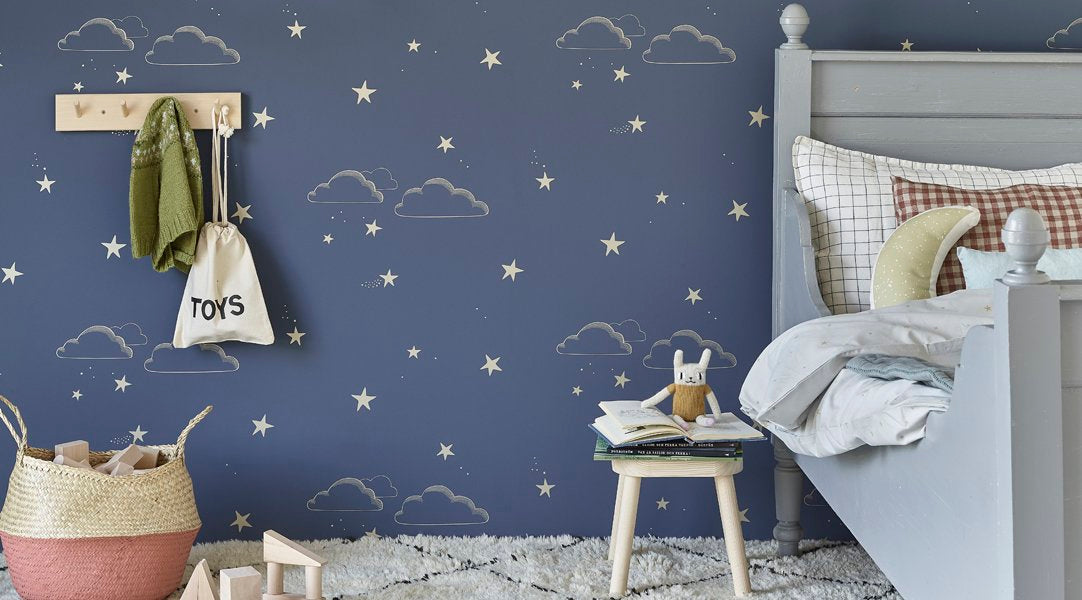 Sissy & Marley Wallpaper for Kids Rooms