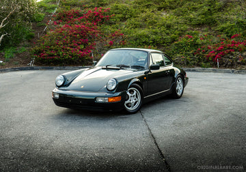 1990 Porsche 911 964 Carrera 2 - Forest Green Metallic