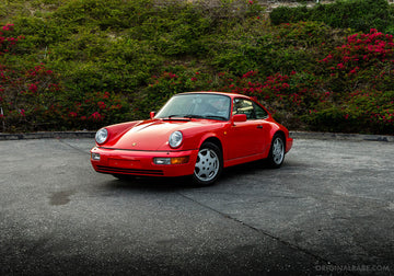 1991 Porsche 911 964 Carrera 2 - Guards Red
