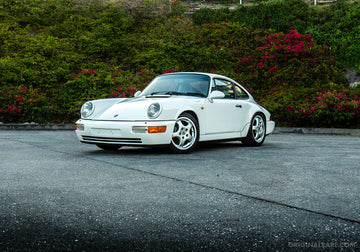 1990 Porsche 911 964 Carrera 2 - Grand Prix White
