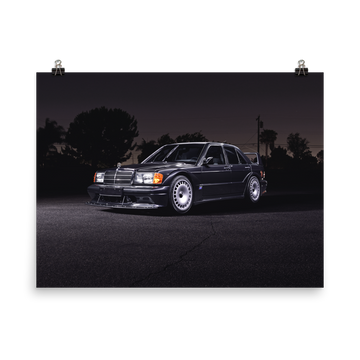 190E EVOLUTION II NIGHT STANCE - POSTER