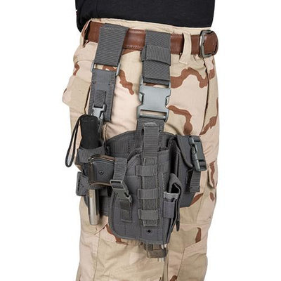 Tactical Drop Leg Holster Radio Pouch