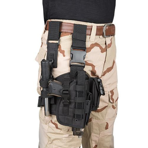 Wholesale Tactical Drop Leg Holster Radio Pouch