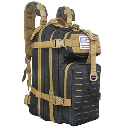 LQARMY Small Laser-cut Tactical Assault Backpack