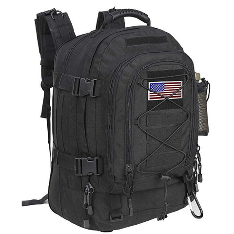 Wholesale Backpack with Flag Patch Expandable Travel Backpack School Backpack Work Backpack for men