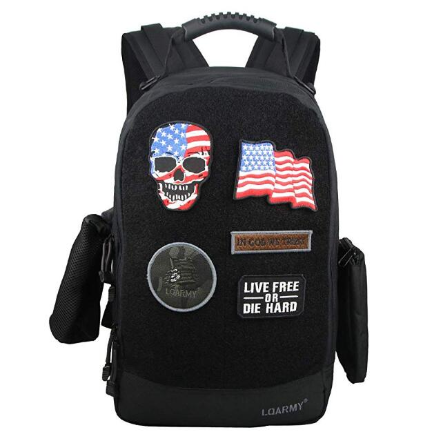 Velcro Backpack Laptop Backpack Military Tactical Backpack