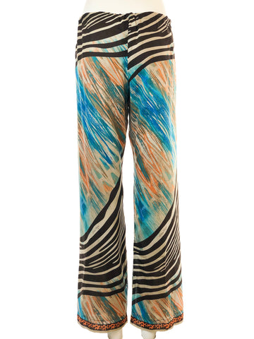 Printed Summer Pants