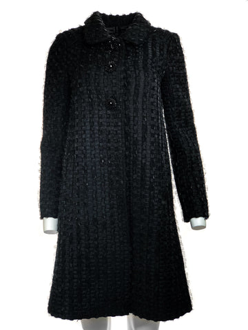Wool down coat