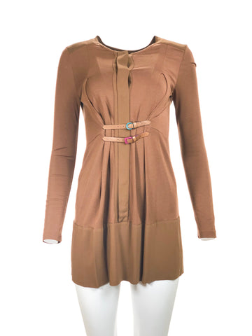 Dress w/ Leather Belt