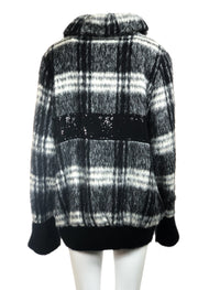 Alpaca patterned coat