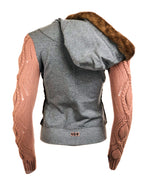 Club Felpa Cardigan w/ Fur Hood