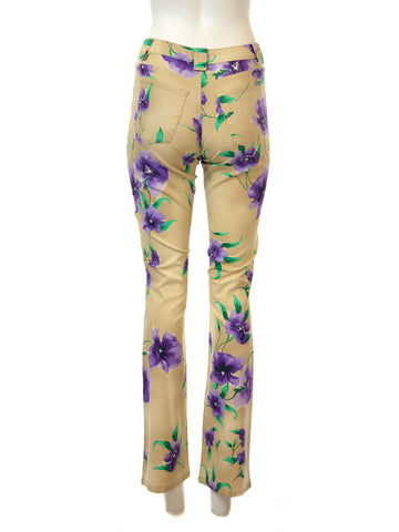 Floral Print Stretch Suit