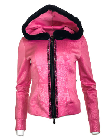 Short Club Jacket w/ Fur Hood
