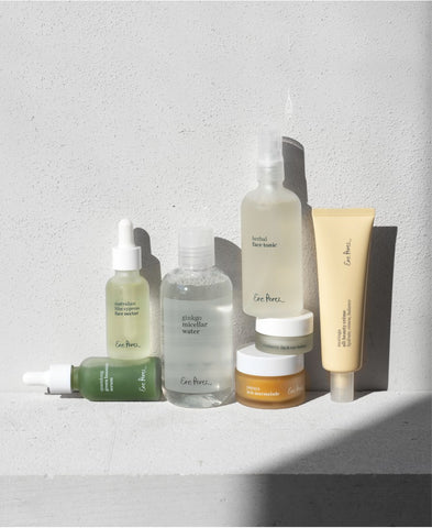 Complete skincare kit Ere Perez 7 productos