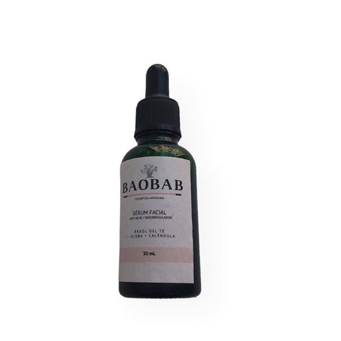 Serum facial anti acné/ seborregulador Baobab