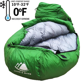 Hyke & Byke 0 Degree 4 Season Sleeping Bag