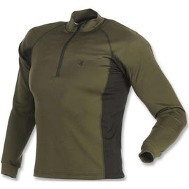 Browning Base Layer 1-4 Zip Shirt Loden
