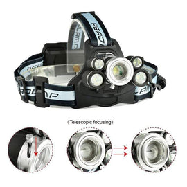 Super-Bright LED Wearable Headlamp