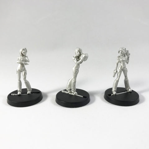 Effigy Havoc Girls - SciFi / Cyberpunk 28mm
