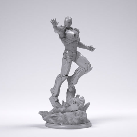 Ironman - Printed 1:12 Scale!