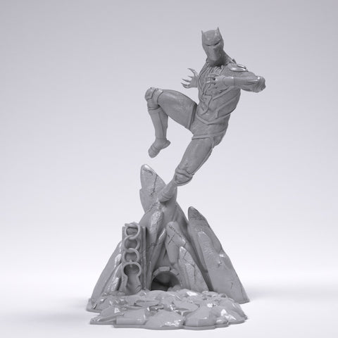 Black Panther - Printed 1:12 Scale!