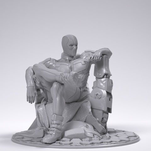 Deadpool - Printed 1:12 Scale!
