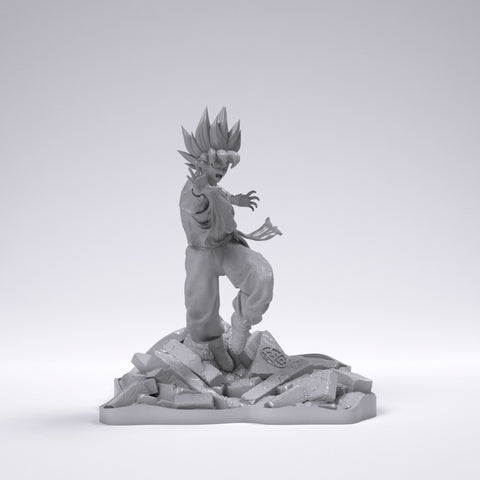 Goku - 6 Inches Tall!