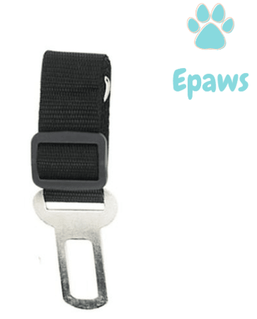 Epaws Dog Car Seatbelt - Epaws dog seat belt tether pet seat belt black