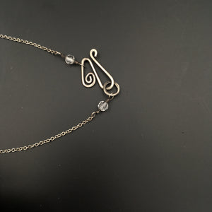 Handmade Sterling Silver Moonstone Necklace