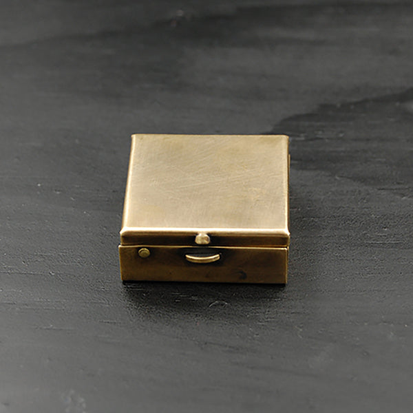 Brass Pill Box with Your Choice of Fly, Wasp, Scarab Beetle, or Long Horned Beetle!