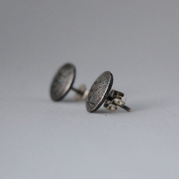 Sterling Silver Ant Insect Stud Earrings