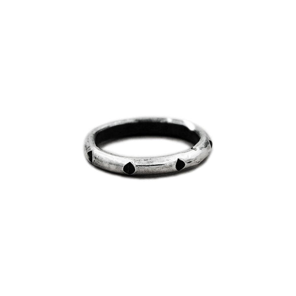 Minimalist Sterling Silver Stacking Stackable Simple Ring Band
