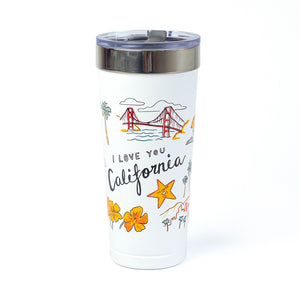 I Love You California Tumbler