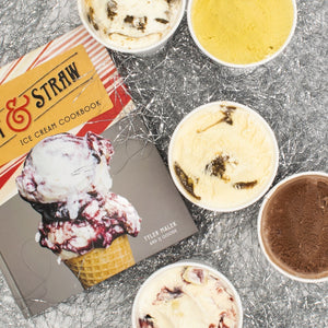 Holiday Ice Cream & Signed Cookbook Bundle