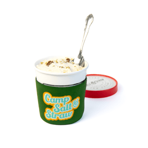 Camp Salt & Straw Pint Koozie
